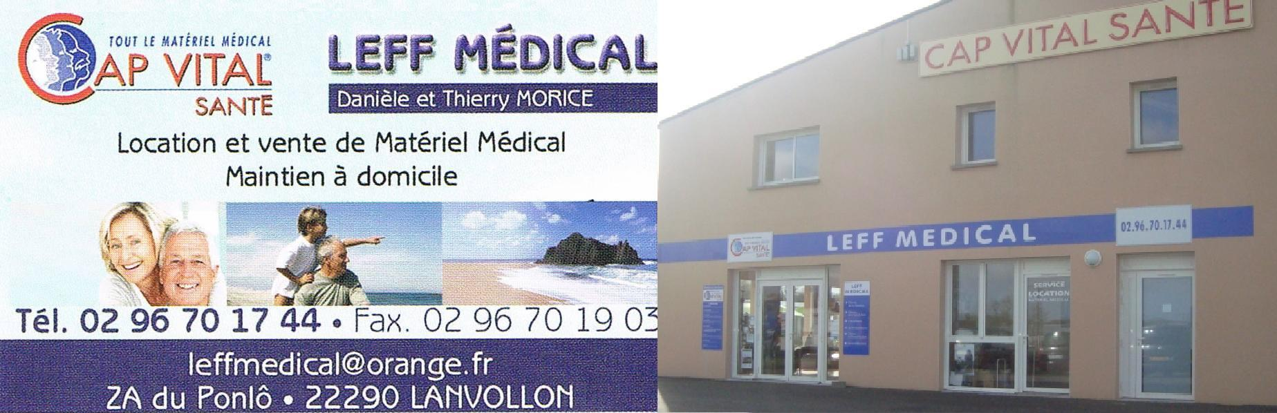 LEFF MEDICAL LANVOLLON
