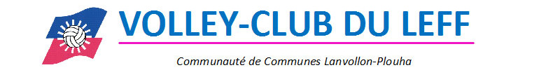 Logo club Volley club du leff