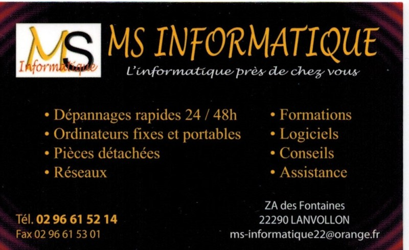 MS INFORMATIQUE LANVOLLON