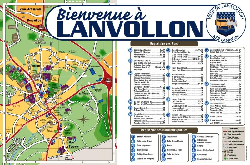 Plan de LANVOLLON