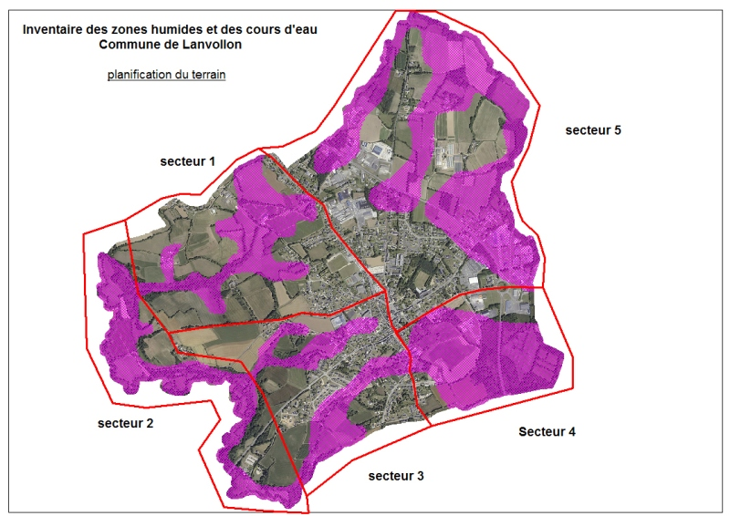 planification terrain