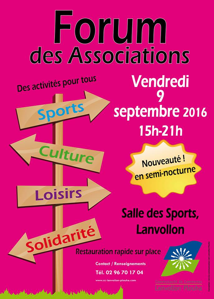 Forum des Associations de LANVOLLON