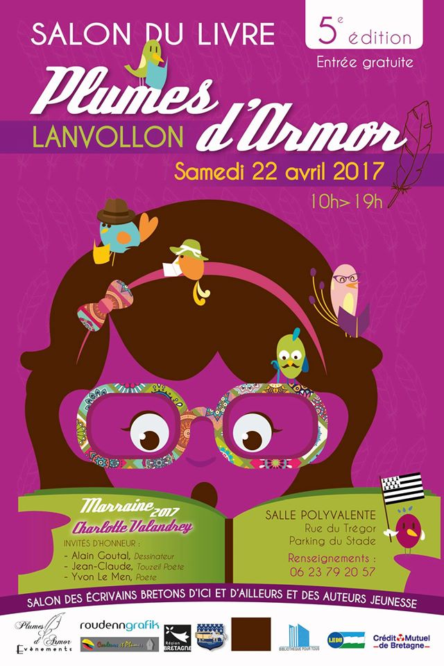 5 me dition du salon du livre de lanvollon le samedi 22 for Salon du livre montreuil 2017